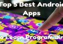 Top 5 Best Android Apps To Learn Programming