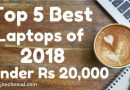 Top 5 Best laptops under 20000 Rs in India 2018 Duttaji Technical