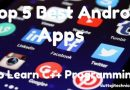 Top 5 Best Android Apps to learn C++ programming