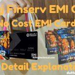Bajaj Finserv EMI card-No Cost EMI | Full Detail Explaination