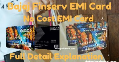 Bajaj Finserv EMI card-No Cost EMI | Full Detail Explaination