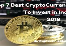 Top 7 Best CryptoCurrency to Invest in 2018 in India
