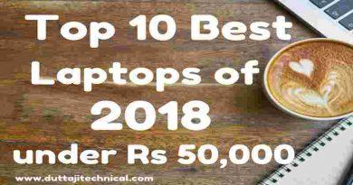 Top 10 Best Laptops Under 50000 For Programming