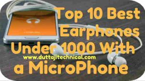 10 Best Earphones Under 1000 with Mic in India 2019 (June) 1