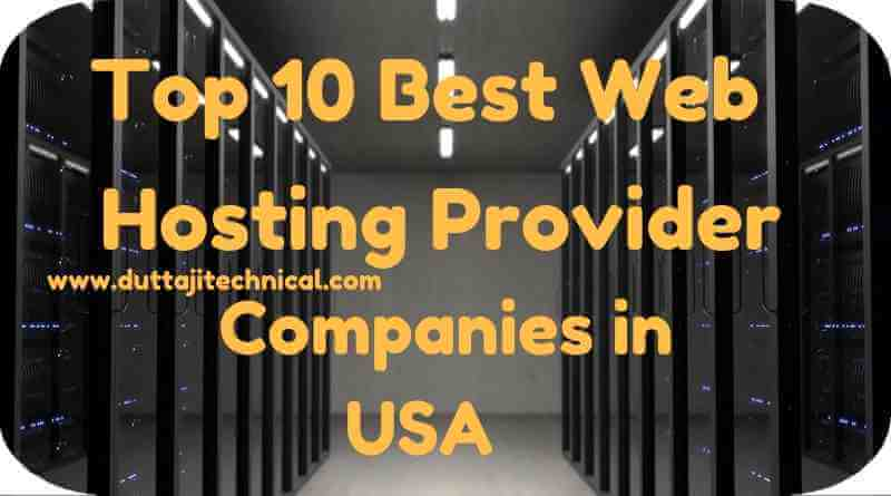 Top 10 Best Web Hosting Provider Companies in USA 2018