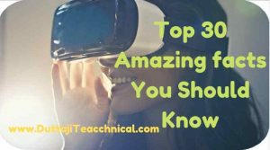 30 Amazing Technology facts You Should Know | April 2019 1