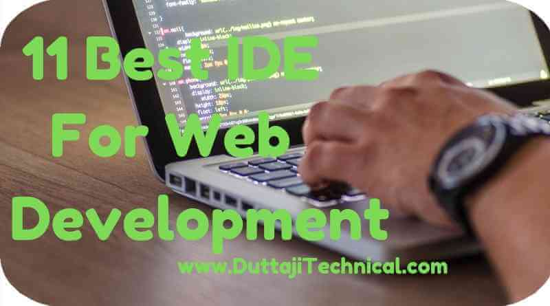 Best IDE for Web Development